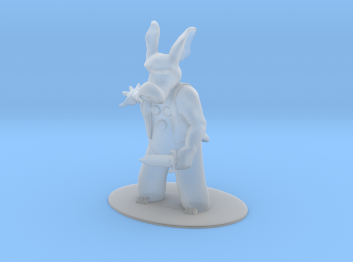 Cerebus the Aardvark Miniature 3d printed