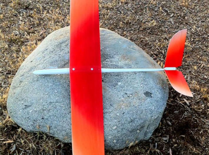 110 Degree V-Tail Clamp + Mount Set (Sailplanes) 3d printed Blejzyk Elf Completed and flown many times :D