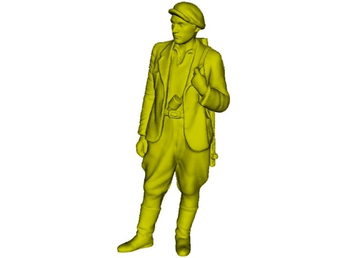 1/35 scale WWII Soviet resistance partisan figure 3d printed