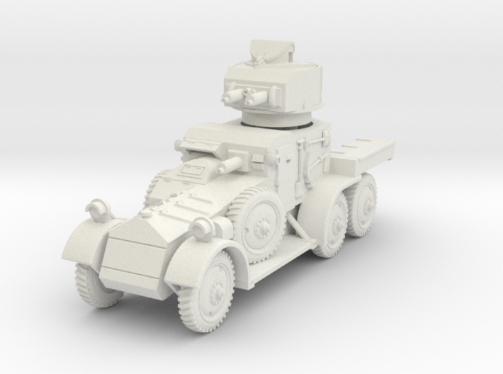 Lanchester MkII (1-87 scale) 3d printed