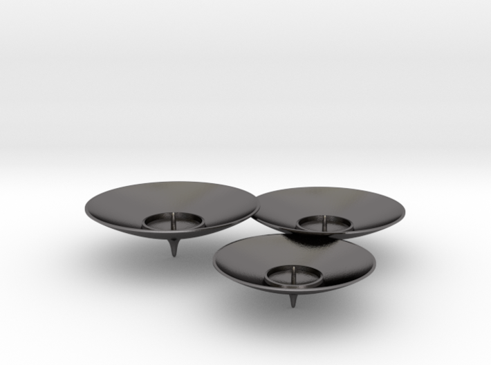 TRIO Candle holder 3d printed