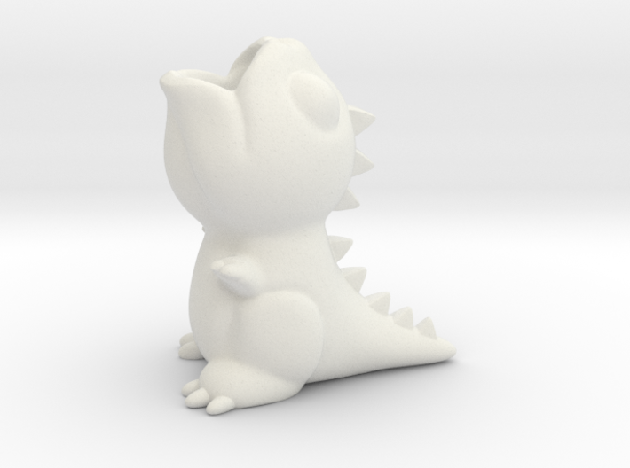 Dragon Penholder 3d printed