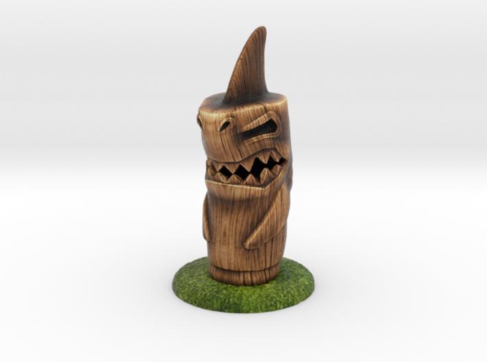 Shark Tiki 3d printed
