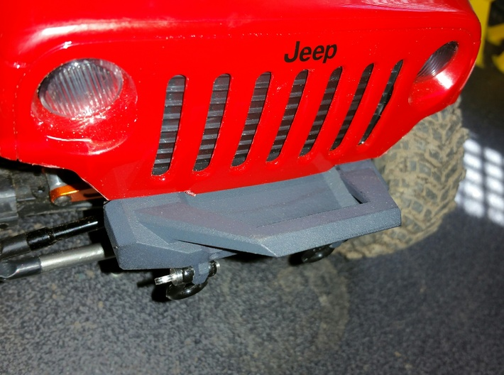 Front Bumper for Axial SCX10 3d printed