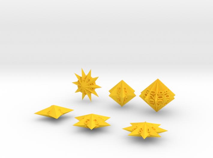 Star Dice 3d printed