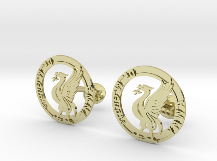 Liverbird the icon of Liverpool 3d printed