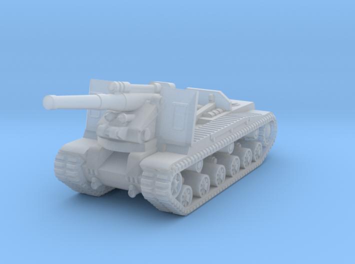 1/285 S-51 Self-Propelled Howitzer 3d printed
