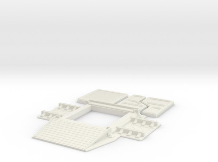 Subterranean Hanger 3d printed