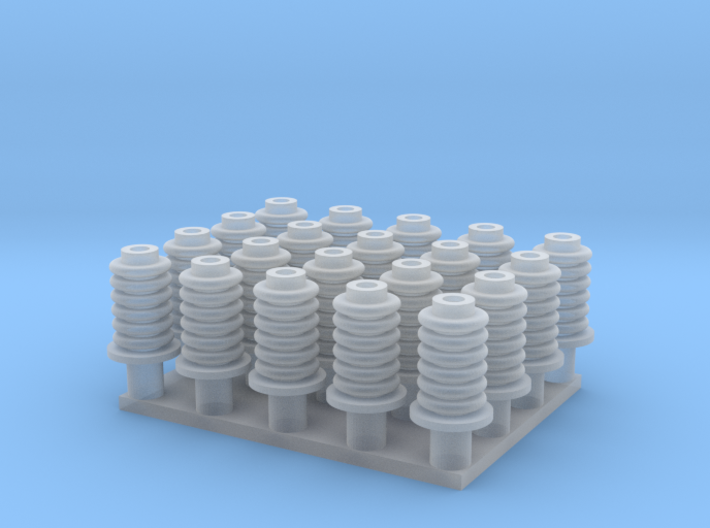 Eristin 20kpl (H0) 3d printed