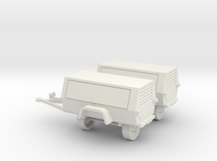Generator/Compressor (2)Pack 1-87 HO Scale 3d printed