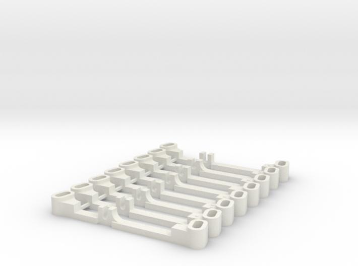 SET BARRES DIRECTION 3d printed