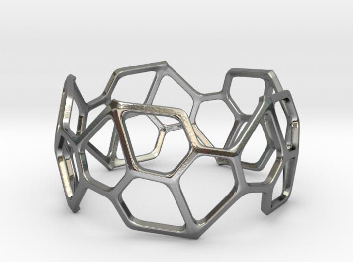 Bracelet Hex 3d printed
