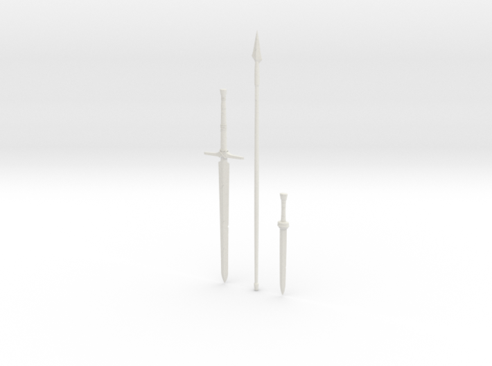 """BotW"" Traveler's Weapons Set 3d printed"