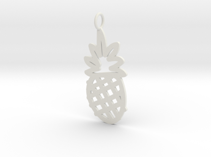 Large Pineapple Charm! 3d printed