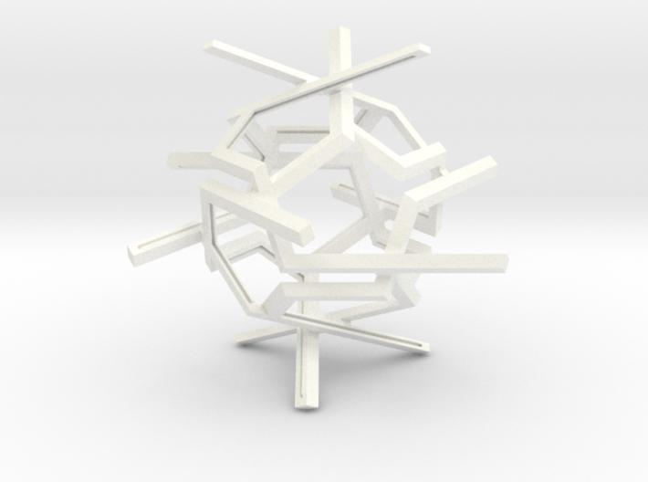 Dichro Dodeca Suncatcher - DIY 3d printed