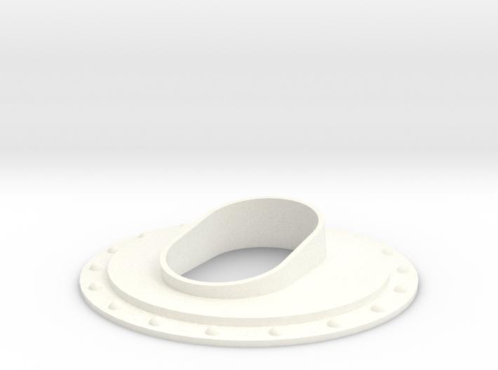 1.8 EC725 SMALL EXHAUST SYTEM 3d printed
