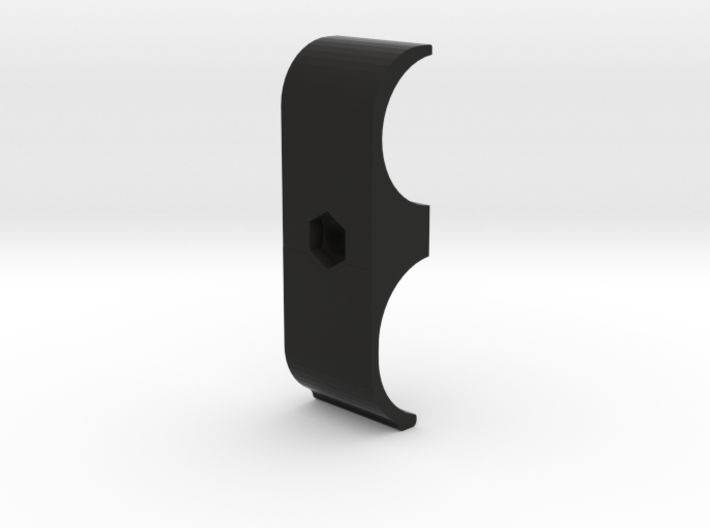 Cyma M870 airsoft heat shield (Right side) 3d printed