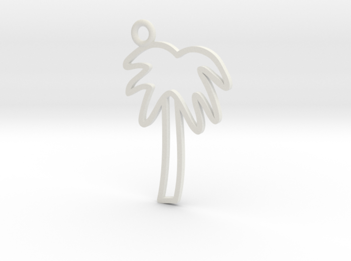 Palm Tree Charm! 3d printed