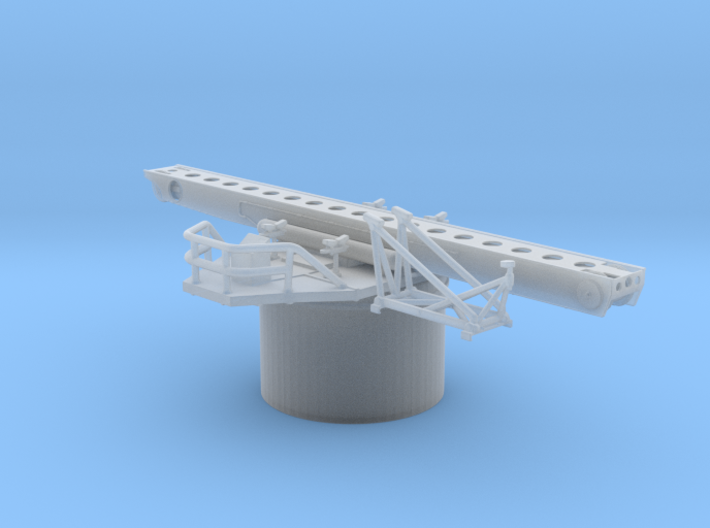 1/144 Hipper Seaplane Catapult 3d printed