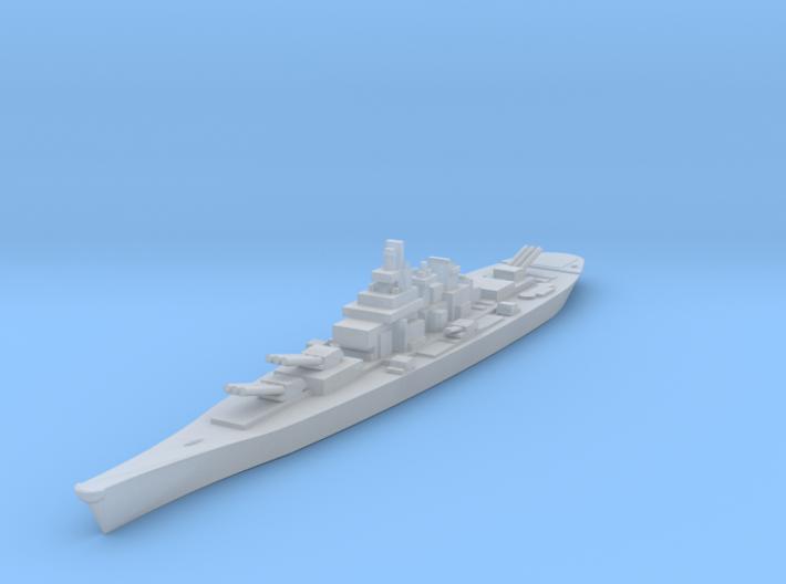USS IOWA 3d printed