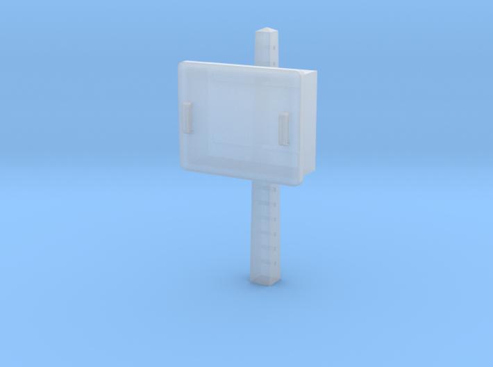 TJ-H04678 - Boitier STM sur poteau béton 3d printed