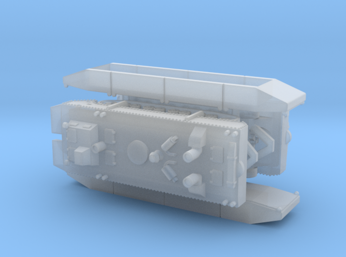 German Panzerfähre II (Tank Ferry) 1/200  3d printed