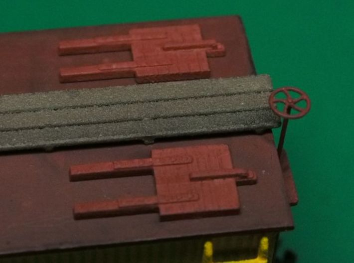HO scale Reefer Hatches (closed) x8 3d printed