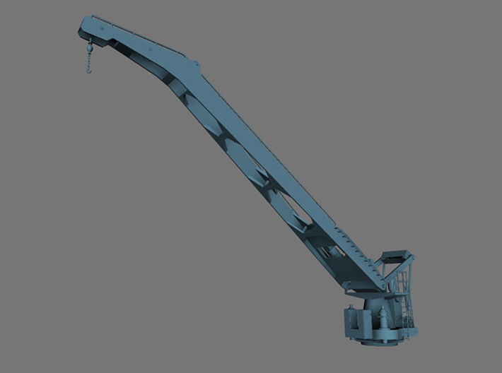 1/32 DKM Hipper Seaplane Crane Part 1 3d printed