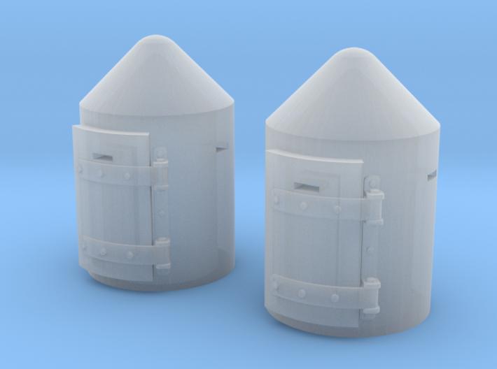 TJ-Z4501x2 - Guérites anti-bombardement 3d printed