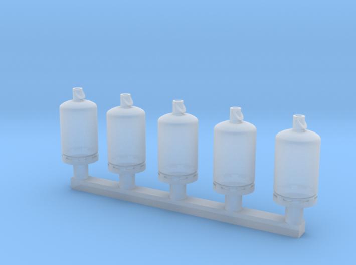TJ-H02001x5 - Bouteilles de gaz 13kg 3d printed