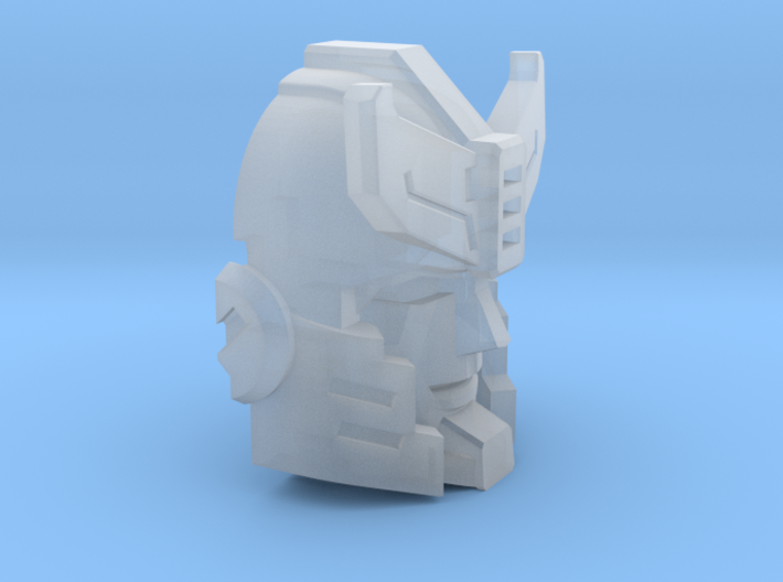 Police Strategist's Face 3d printed
