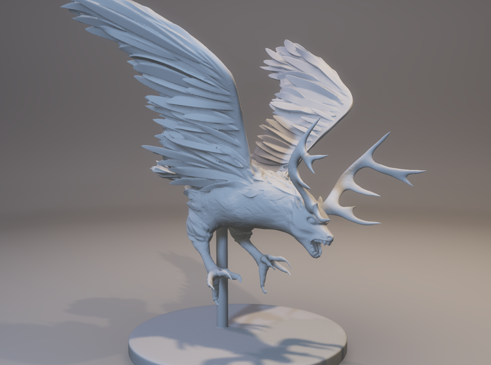 Peryton (claw diving attack) 3d printed