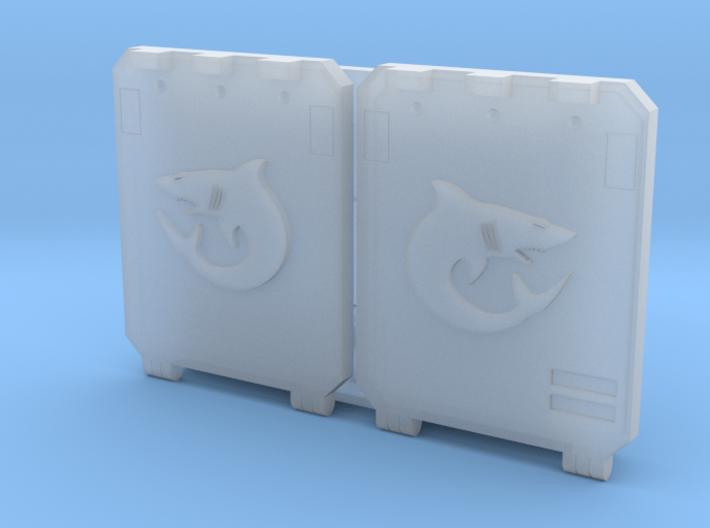"Carcharodons ""Metal Box APC"" Set 2 3d printed"