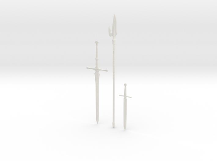 """BotW"" Soldier's Weapons Set 3d printed"