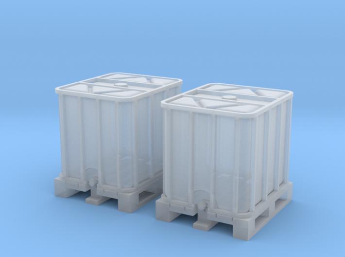 TJ-H02010x2 - Conteneurs 1000l 3d printed