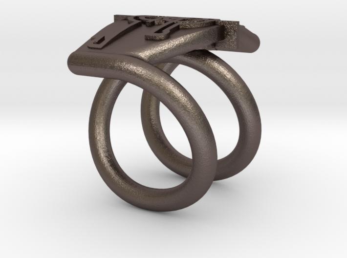 Bague symbole 3d printed