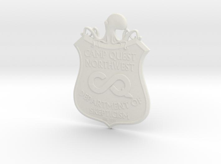 CQNW Badge 3d printed