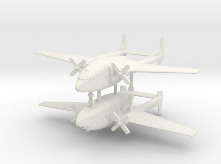 1/350 Fairchild C-119 Boxcar (x2) 3d printed