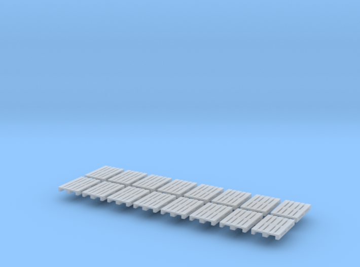 16x EUR-pallet (N 1:160) 3d printed