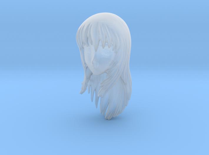 1/24 Asuka Sin Head Model 3d printed