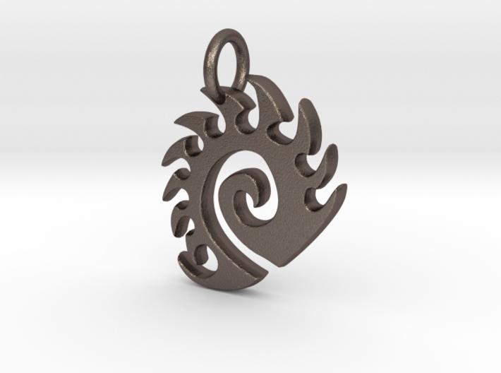 Zerg Charm 3d printed