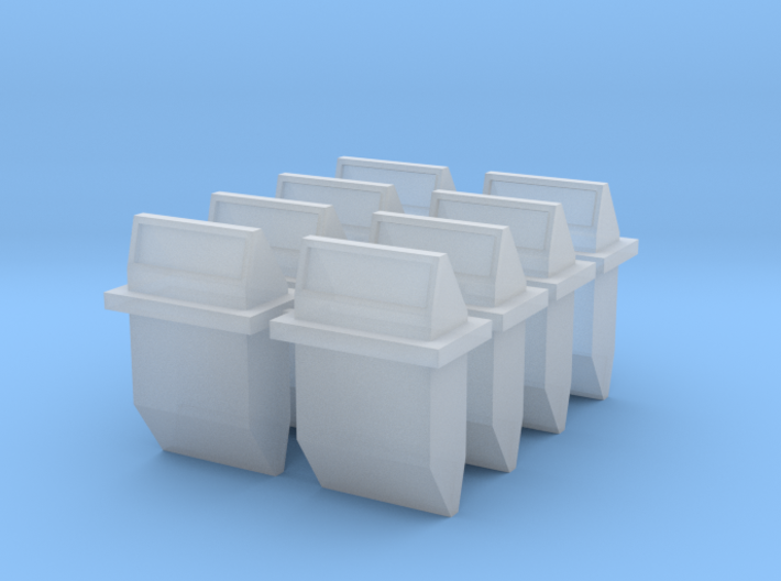 1/16 Tiger II turret periscopes 3d printed