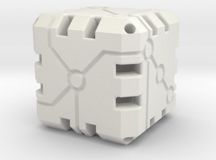 Vertex Dice 48mm Hollow 3d printed