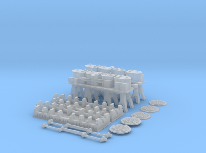 Titanic Engine Room Set CK 3d printed