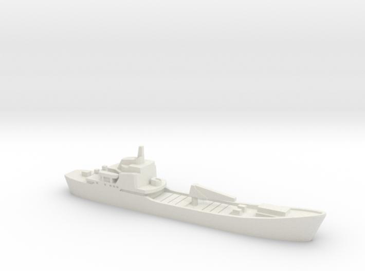 Alligator-class landing ship, 1/1800 3d printed