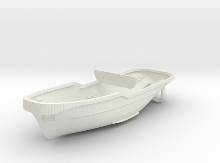Harbor Tug Hull V40 1:87 3d printed