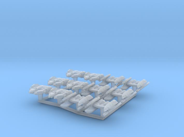 (Armada) 6x Hyena Bomber + 6x Droid Bomber 3d printed