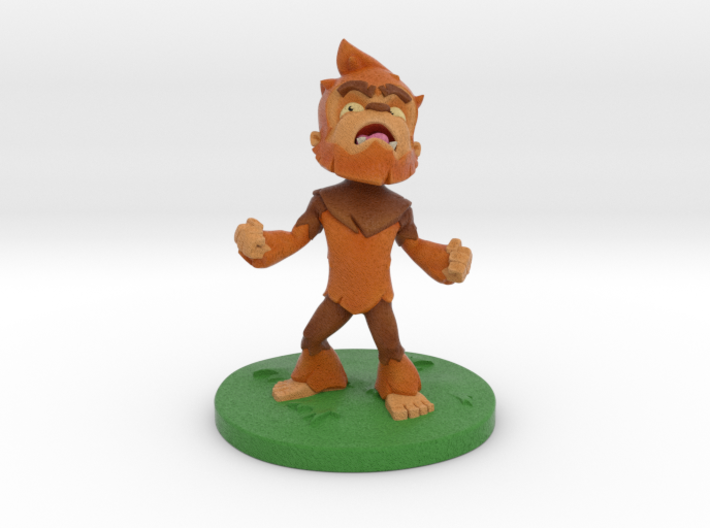 Little Bigfoot Yell Medium 3d printed Little Bigfoot