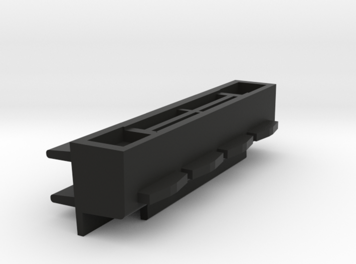 Battery-Port Assembly HP41C 3d printed