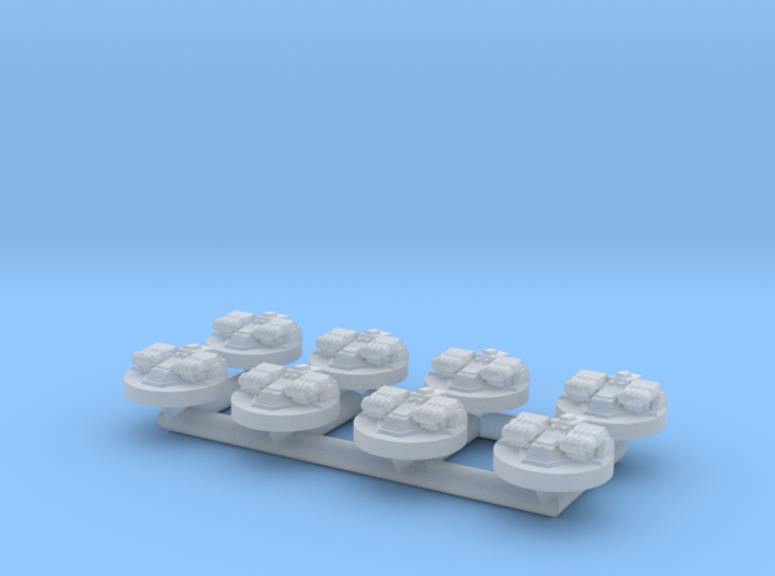 (Armada) 8x ISD II Turrets 3d printed